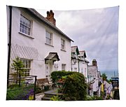 Clovelly Street View Tapestry
