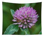 Clover In Dew Tapestry