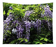 Clusters Of Wisteria Tapestry