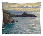 Coast At Amalfi Tapestry