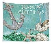 Coastal Christmas 4 Tapestry