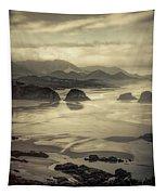 Coastal Dawn Tapestry