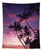 Coastline Palms Tapestry
