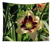 coat and tie Daylily Tapestry
