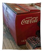 Coca-cola Chest Cooler General Store Tapestry
