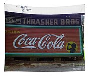 Coca Cola Sign Tapestry