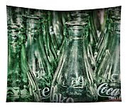 Coca Cola So Many Bottles Tapestry