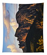 Cochise Head Tapestry