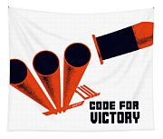 Code For Victory - Ww2 Tapestry