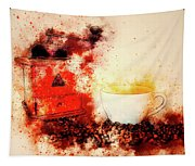 Coffe Grinder Tapestry