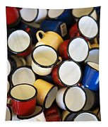 Coffee Cups Tapestry