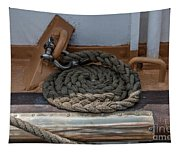 Coiled Rope Tapestry
