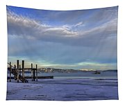 Cold Boat Ride Tapestry