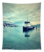 Cold Reflections Tapestry