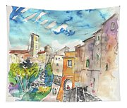 Colle D Val D Elsa In Italy 02 Tapestry