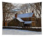 Colonial Christmas Tapestry