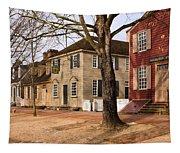 Colonial Street Scene Tapestry