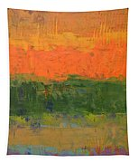 Color Collage Four Tapestry