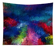 Color Splash Abstract 080210 Tapestry