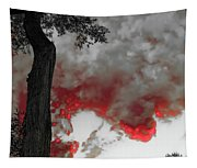 Color The Clouds Tapestry