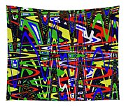 Color Works Abstract Tapestry