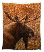 Colorado Moose Tapestry