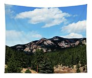 Colorado Mountains Tapestry