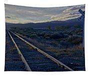 Colorado Railroad Crossing Tapestry