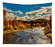 Colorado River In Autumn Tapestry