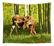 Colorado Rockies Moose Tapestry