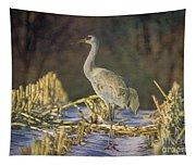 Colorado Sandhill Crane  Tapestry