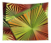 Colored Box Abstract Tapestry