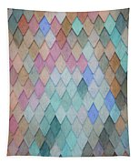 Colored Roof Tiles - Painting Tapestry