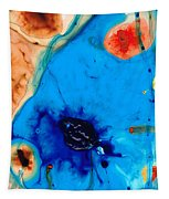 Colorful Abstract Art - The Reef - Sharon Cummings Tapestry