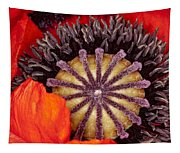 Colorful Bloom Tapestry