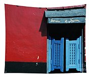 Colorful Caribbean Door Tapestry