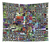 Colorful Chaotic Composite Tapestry