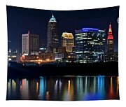 Colorful Cleveland Tapestry