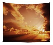 Colorful Cloudburst Tapestry