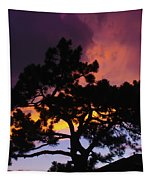 Colorful Colorado Sunset Tapestry by Perspective Imagery