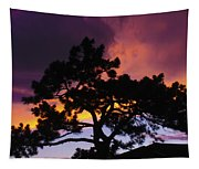 Colorful Colorado Sunset Tapestry