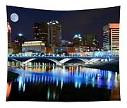 Colorful Columbus Tapestry