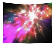 Colorful Cosmos Tapestry