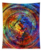 Colorful Crash 10 Tapestry