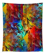 Colorful Crash 11 Tapestry
