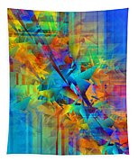Colorful Crash 8 Tapestry