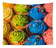 Colorful Cupcake Tapestry
