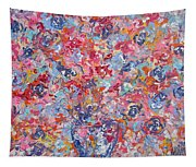 Colorful Floral Bouquet. Tapestry