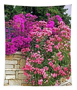 Colorful Flowering Shrubs Tapestry