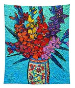 Colorful Gladiolus Tapestry